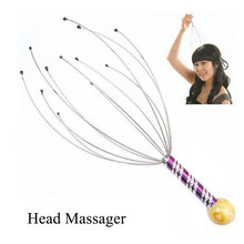 Head Scalp Octopus Massager Stress Release Relax Head Nerve Endings Massage Claw Pain Relief Head Handheld Massager Health Care