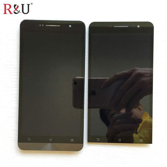 6 inch high quality lcd screen display & touch screen panel glass digitizer assembly with frame for ASUS Zenfone 6 A600CG T00G
