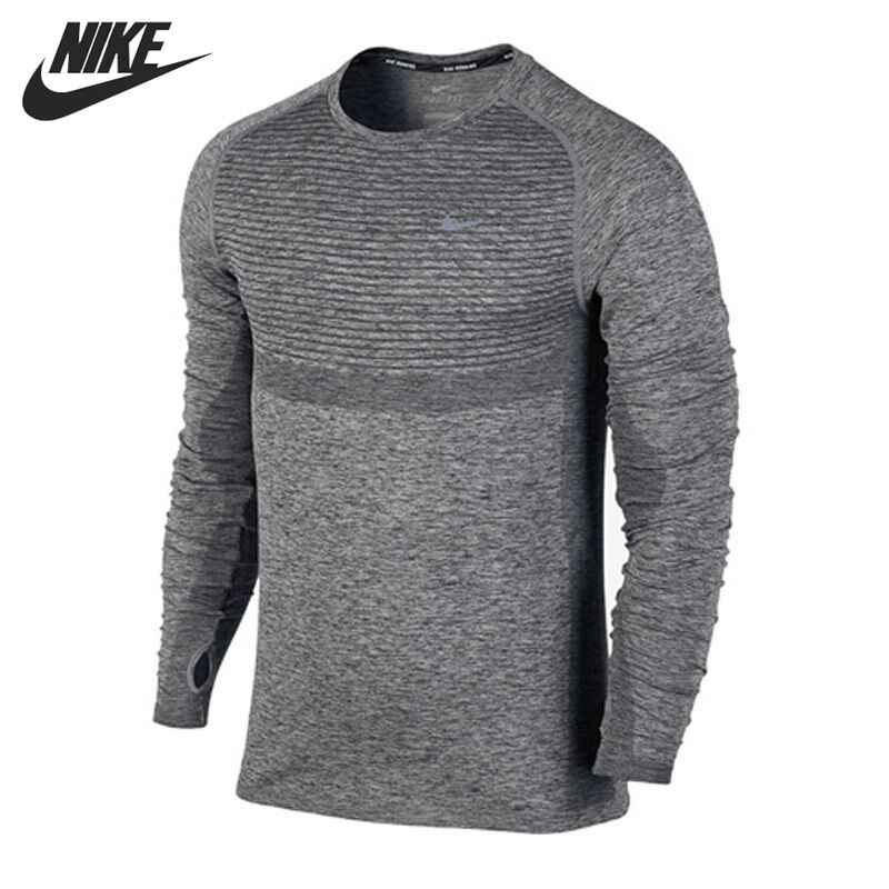Nike Para Manga Camisetas De Originales Larga Ropa Hombre Deportiva Camisa c3j5qR4AL