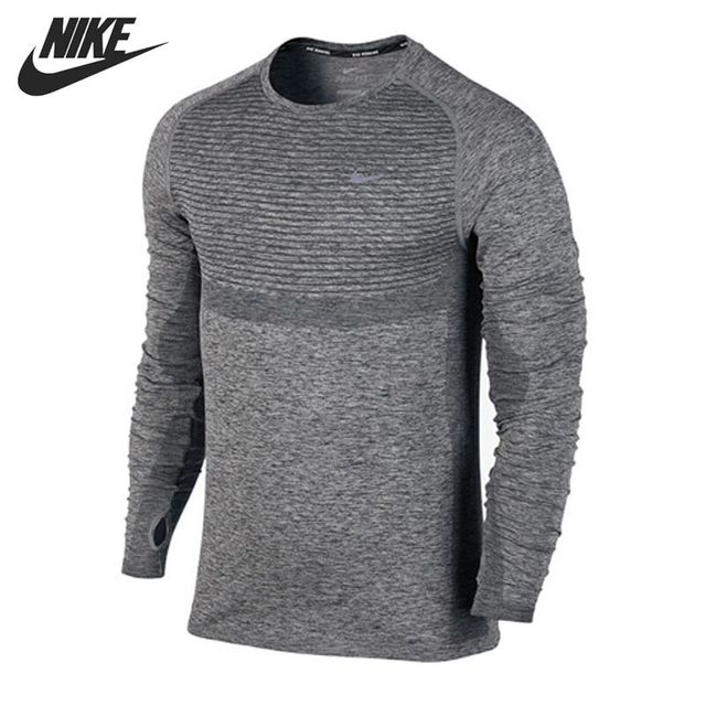 3d1a1720ef8a Original NIKE Men s T shirts shirt Long sleeve Sportswear -in ...