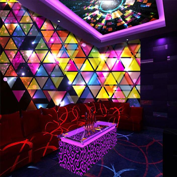 karaoke ktv disco bar wallpapers decoration shipping entertainment china wholesale mural font