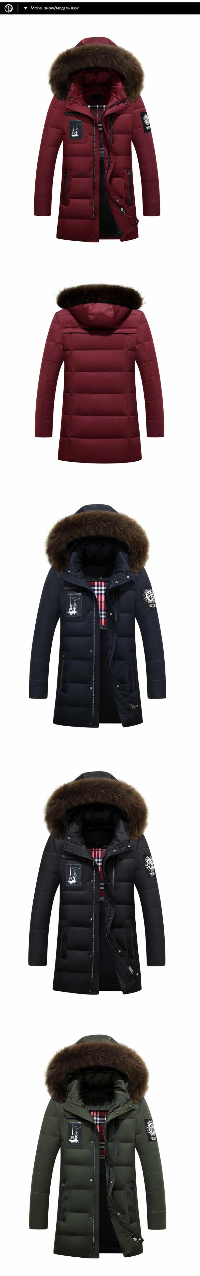 1c9d02abf36f 2016 Mens winter jackets and coats young design sonw parka men duck ...