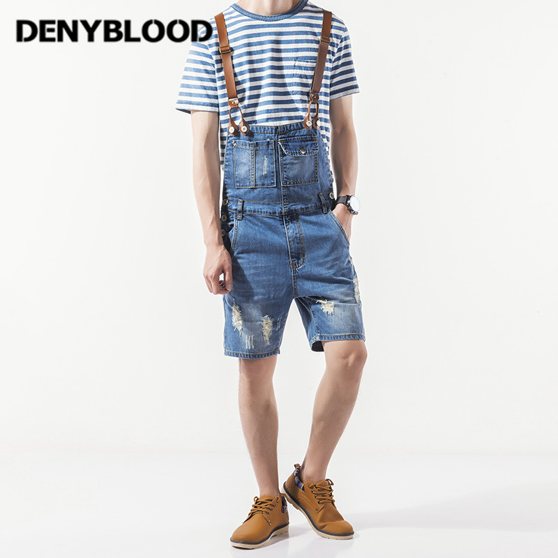 Denyblood Jeans Mens Distressed Jeans Ripped Denim