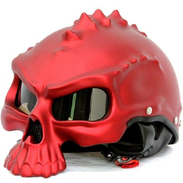 Neueste Neuheit Retro Casque Monster Motorrad Helm Halbhelme Motor Capacetes Capacete Motoqueiro