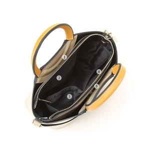 Image 3 - Брендовая женская сумка JIANXIU из искусственной кожи, круглая портативная дизайнерская сумка тоут, 2019, женские сумки мессенджеры на плечо, двойные Наплечные ремни