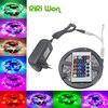 5m 2835 LED Strip Led Stripe Light 12V 60LEDs M3528 Lighting For RF Dimmer Red Green