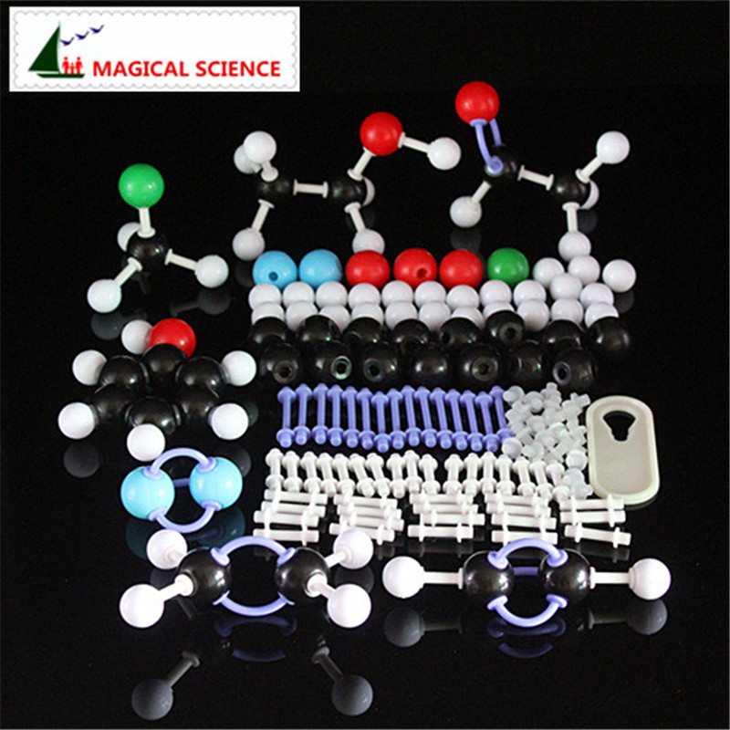 118pcs 23mm molecular model kit PP bag packed,Organic Chemistry Teaching for teacher & students in high school & University molecular model kit lz 23177 chemistry organic molecule structure models set student and teacher estuches school free shipping