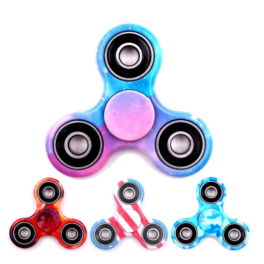 acheter multicolore style motif main spinner jouet abs tri spinner fidget jouet. Black Bedroom Furniture Sets. Home Design Ideas