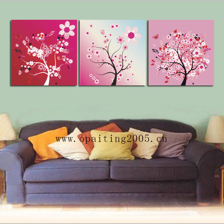 tree with flowers painting aliexpresscom buy high quality 100 hand painting decorative