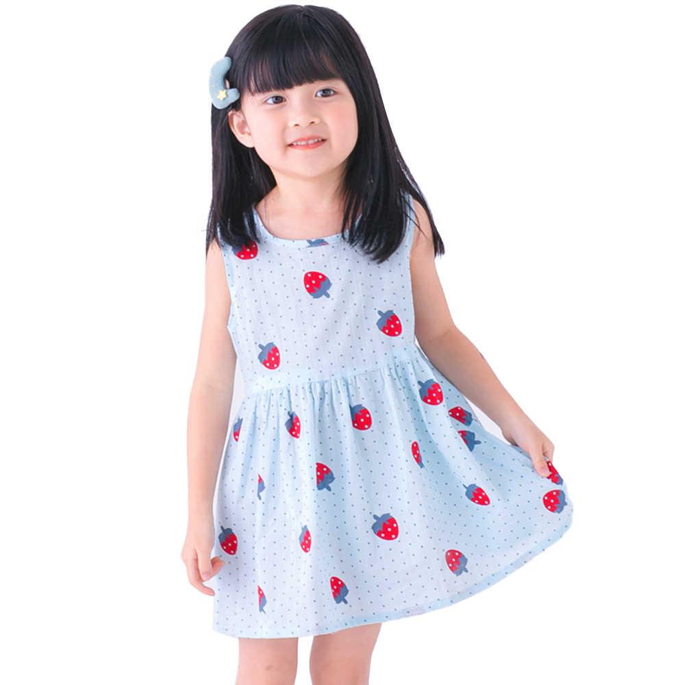 Новые летние платья для девочек, 5 стилей, туника, халат, одежда для малышей, детская праздничная одежда на день рождения, детское платье принцессы, костюм