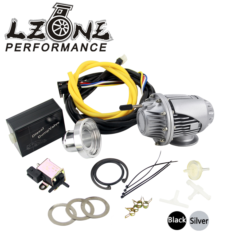 LZONE RACING - Universal Electrical Diesel SSQV4 SQV4 Blow Off Valve / Diesel Dump Valve / Diesel BOV SQV KIT JR5730S+5011W brand new high quality bov turbo blow off valve for hks sqv4 ssqv4 better performance than sqv3 fast delivery