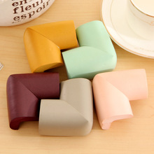 3Pieces Pack Concise Pure Colour Thickening Collision Angle Protect Children Furniture Corners Protective Sleeve