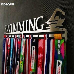 Image 4 - ステンレス鋼メダルハンガー水泳メダルディスプレイハンガー水泳メダルホルダー