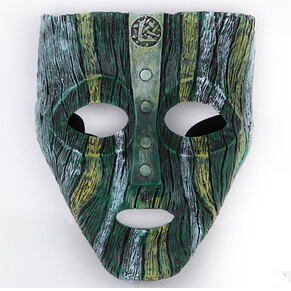 "Jim Carrey ""THE MASK"" Loki Mask type-A cosplay mask props"