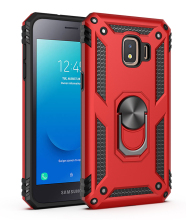 TPU+PC 360° Rotating Sergeant Shatter Resistant Bracket Armor Shock Absorption Case For Samsung Galaxy J2 Core Proof