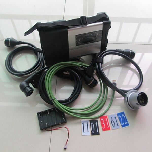 MB Star C5 sd connector met d630 PC SSD installeren nieuwste software klaar om multi taal wifi MB C5 auto diagnostic tool - 4