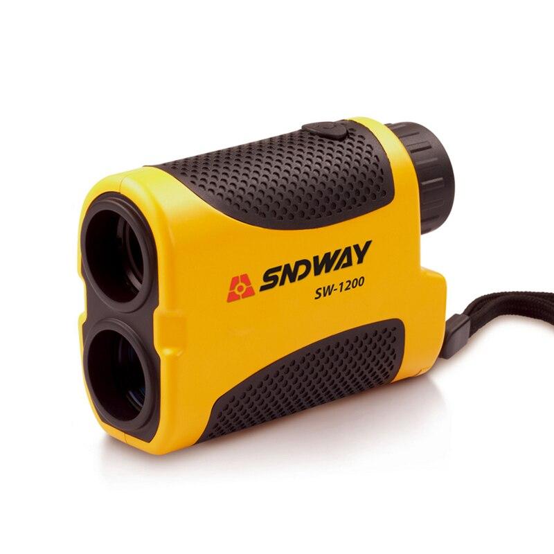 SNDWAY 1200M 6X Telescope Laser Rangefinder Monocular Handheld For Hunting Golf Range Laser Distance Meter Measure Tools  цены
