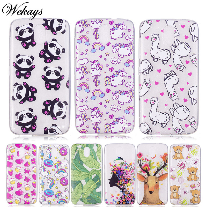 Wekays Case For Coque HTC Desire 526 526G 526G+ 326 326G Cute Cartoon Unicorn Soft Silicone Cover Cases Fundas For HTC 526 Kids