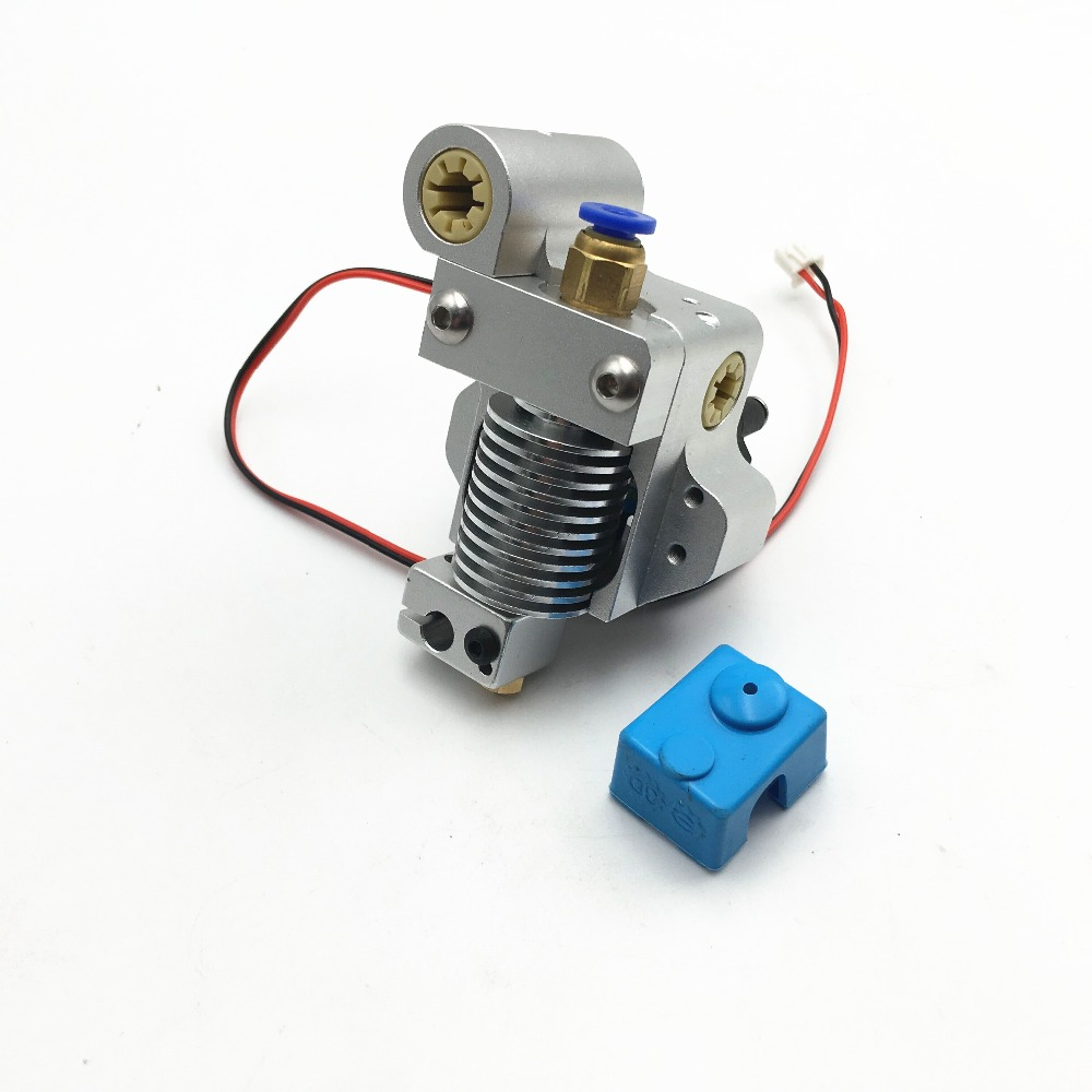 All Metal Ultimaker Original 3D Printer V6 Hotend Extruder 0 4MM nozzle with Free Silcone Sock