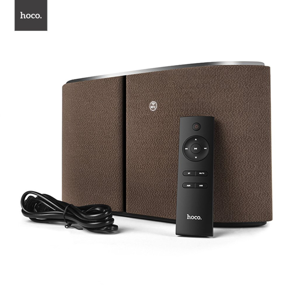 HOCO BS11 Captain Tabletop Portable Wireless Speaker Loudspeaker 4.1 Bluetooth Speaker Stylish For Home Theater Party Speaker