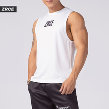 ZRCE New Arrival General Print Tank Tops Quick Drying Sleeveless Vest Summer Men Casual Streetwear Male Gyms Jogging Vest