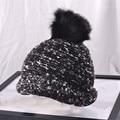 El Espectáculo impactante Hemming Moda Mujer Sombreros de Invierno de Punto Caliente de la Gorrita Tejida Sombrero