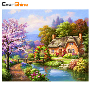5D DIY Diamond Painting Crystal Landscape Embroidery Diamond Mosaic Patterns Beads Cross Stitch Rubik Cube Wall Decor Craft