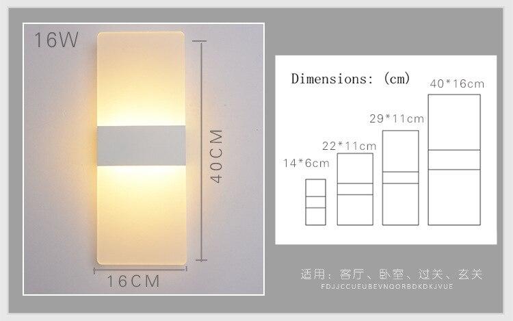 Luzes da Noite lâmpadas de parede do quarto Fonte de Luz : Lâmpadas Led