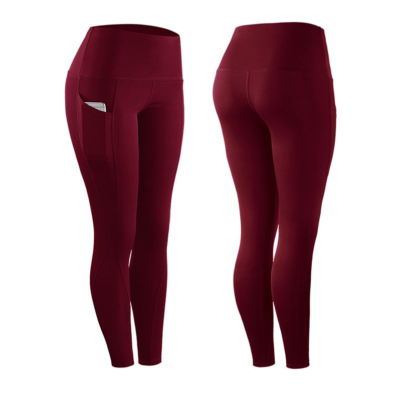 Women Yoga Running Pant Fitness Compression Tights Long Pants Black Trousers Joggers Trousers for Joggers Slim