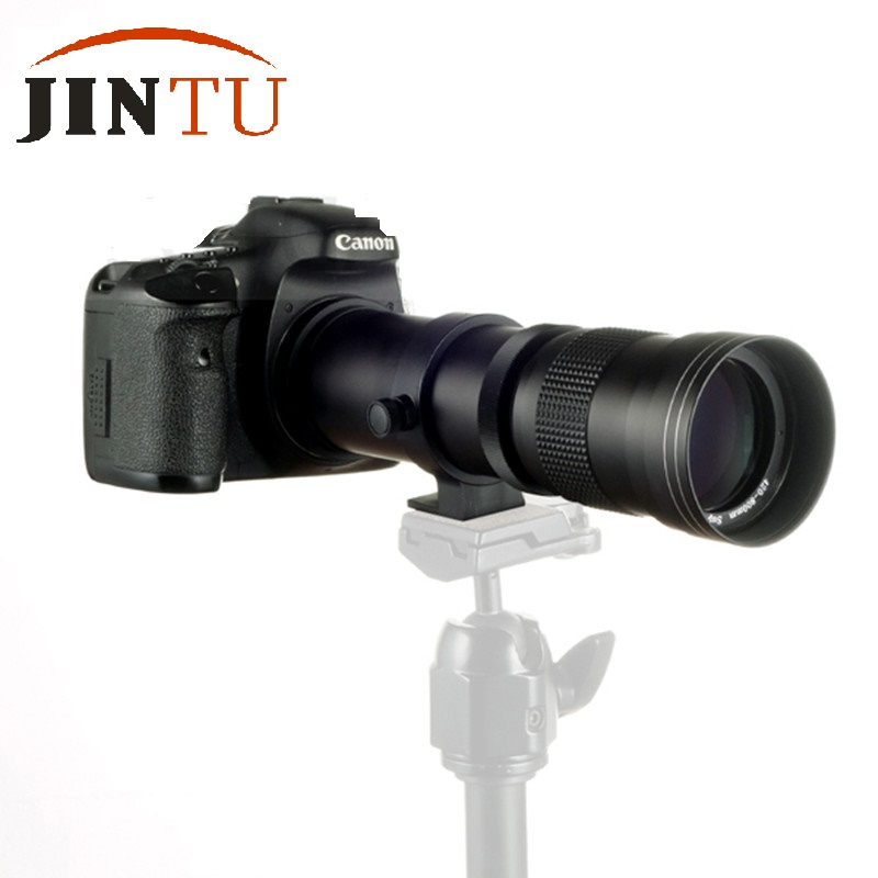 JINTU 420-800mm F/8.3-16 Super Telephoto Lens Manual Zoom Lens for NIKON DSLR Camera Fit Full Frame APS-C 5 colors camouflage hunting military tactical vest wargame body molle armor hunting vest cs outdoor accessories