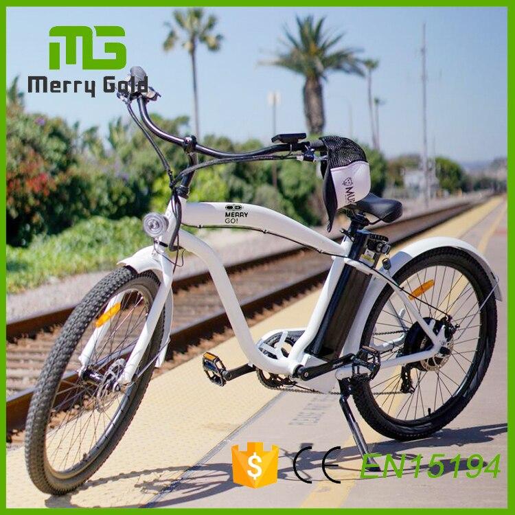 2017 hombre playa crucero ciudad bicicletas eléctricas con batería ...