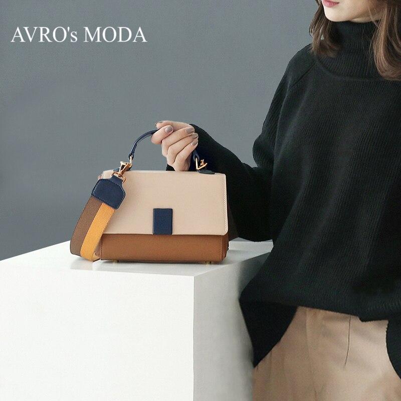 AVRO's MODA Handbag Bags For Women 2019 Luxury Handbags Women Bags Designer Crossbody Bags For Women Genuine Leather Small Bag