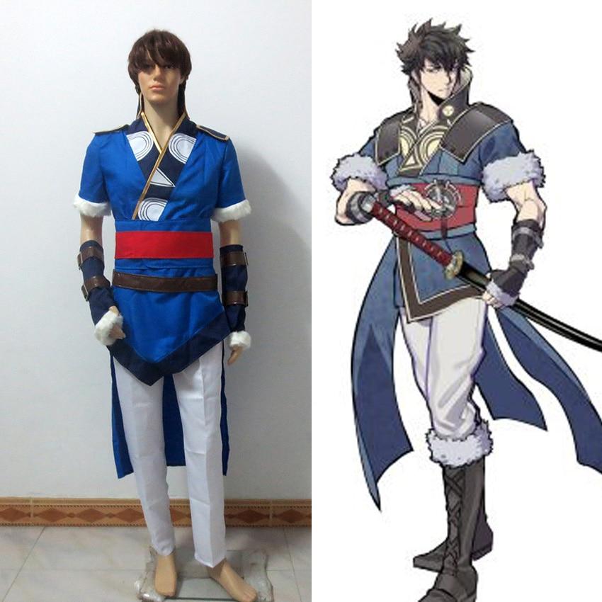 Fire Emblem Lon qu Ronkuu Lonqu Costume Cosplay