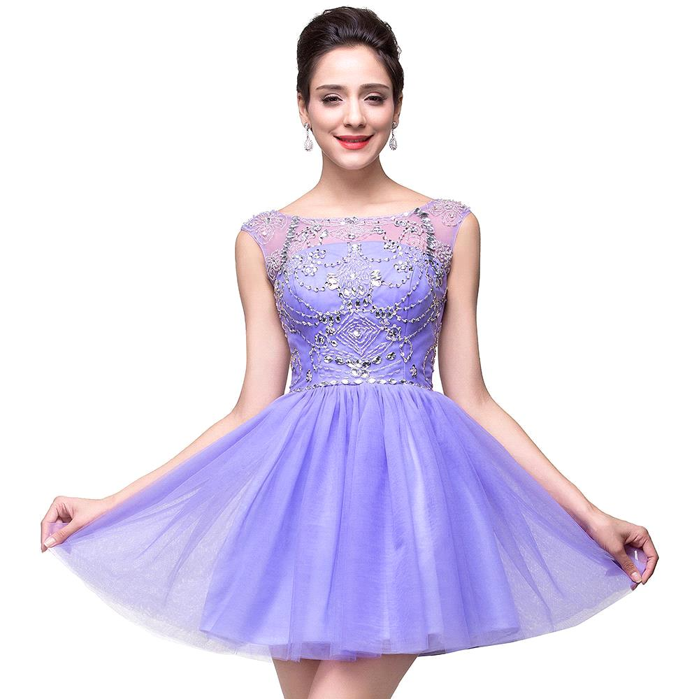 Popular Purple Short Homecoming Dresses-Buy Cheap Purple Short ...