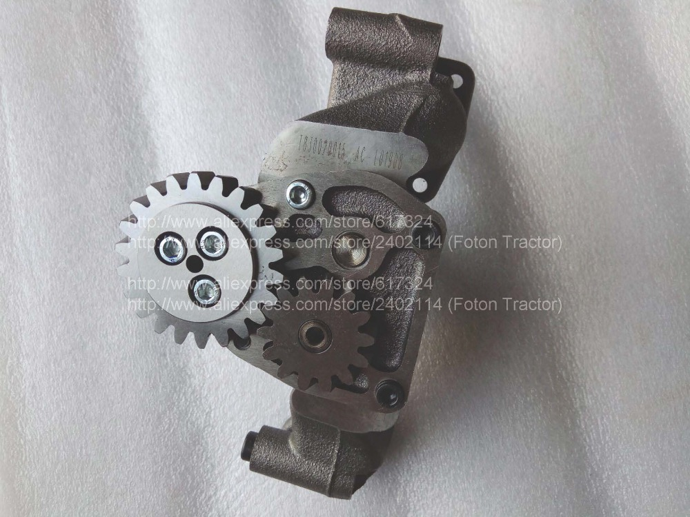 Foton Lovol engine parts, the oil pump assembly, part number: T830020014 б у foton bj1049