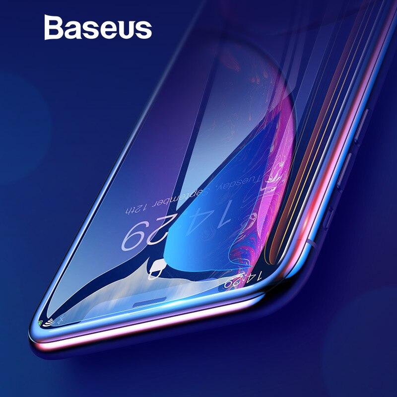 Baseus 0,3mm Volle Abdeckung Aus Gehärtetem Glas Für iPhone Xs Xs Max XR 2018 Bildschirm Schutz Thin Schutz Glas Für iPhone X Xs XR