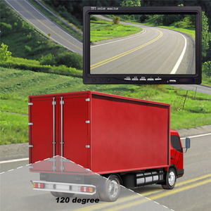 Image 5 - Accfly çift kablosuz monitör araba video kaydedici ters yedekleme arka görüş kamerası kamyon otobüs karavan Van Camper RV römork