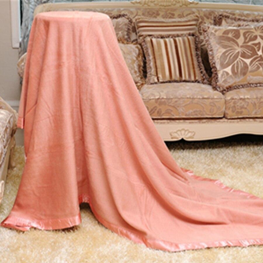 Шелковое Одеяло текстурированное мягкое для дивана уютная накидка на мебель 200 см x 230 см - 2