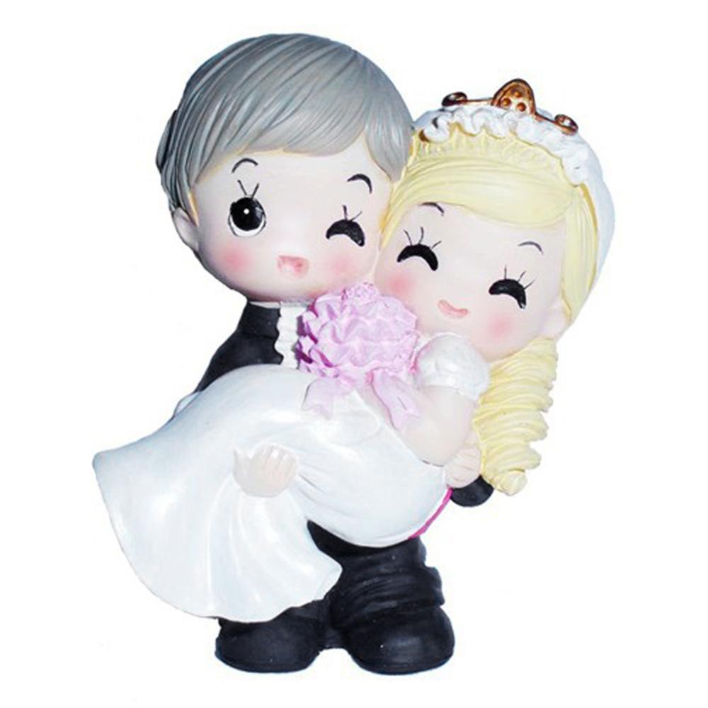Chinese Bride and Groom <font><b>Loving</b></font> <font><b>Couple</b></font> <font><b>Resin</b></font> Craft Toy <font><b>Doll</b></font> <font><b>Decor</b></font> <font><b>Wedding</b></font> Cake Topper Gift <font><b>Home</b></font> Decoration Ornaments Hot