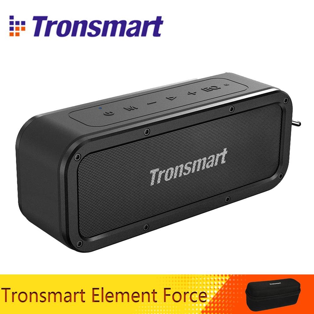 Tronsmart Force Bluetooth 5.0 haut-parleur 40 W haut-parleur Portable IPX7 étanche TWS haut-parleurs 15 H Playtime avec caisson de basses, téléphone NFC