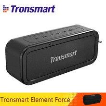 Tronsmart Force بلوتوث 5.0 المتكلم 40 واط المحمولة المتكلم IPX7 مقاوم للماء TWS مكبرات الصوت 15H اللعب مع مضخم الصوت ، NFC الهاتف