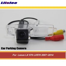 Car Reverse Rearview Parking Camera For Lexus LX 570 LX570 2007-2013 2014 Rear Back View Reversing Camera HD SONY CCD III CAM