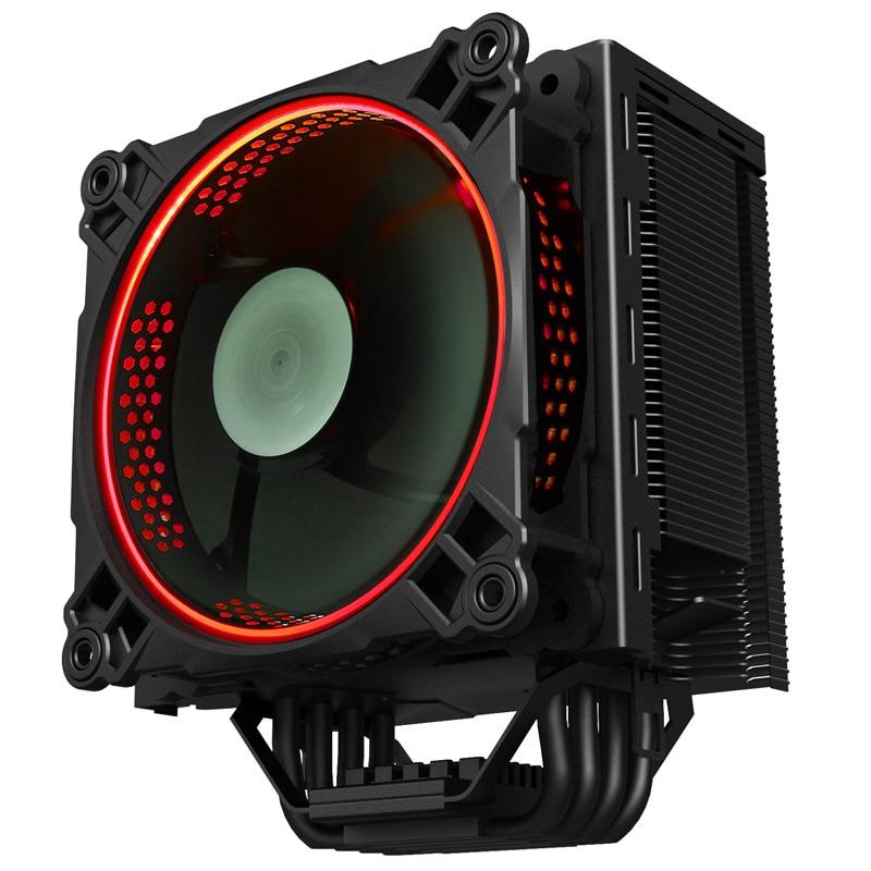 Jonsbo cr-201 4 heatpipe cpu heatsink 12cm led fan jonsbo cr 201 4 cpu 12cm heat pipe radiator side led fan