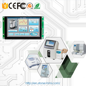 4.3 inch Programmable TFT Screen Module with Touch Controller + Software Support Any MCU 100PCS