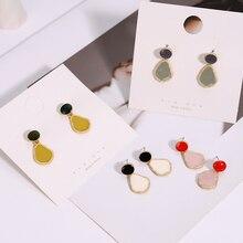 New Simple Pendant Earrings Fashion Polygonal Women Luxury Sweet Wedding Banquet Jewelry Womens Accessories