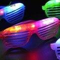 EZLIFE Venda Quente do Partido Piscando LED Óculos de Luz para o natal de Aniversário festa de Halloween decoração suprimentos brilhar óculos CT0206