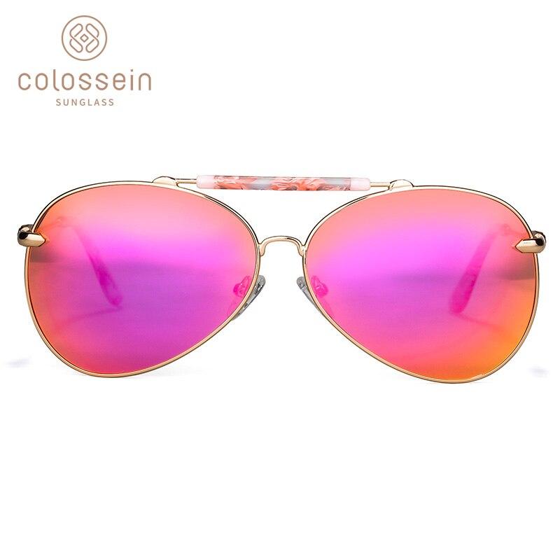 COLOSSEIN lielgabarīta saulesbrilles sievietēm Vintage ovāla - Apģērba piederumi - Foto 2