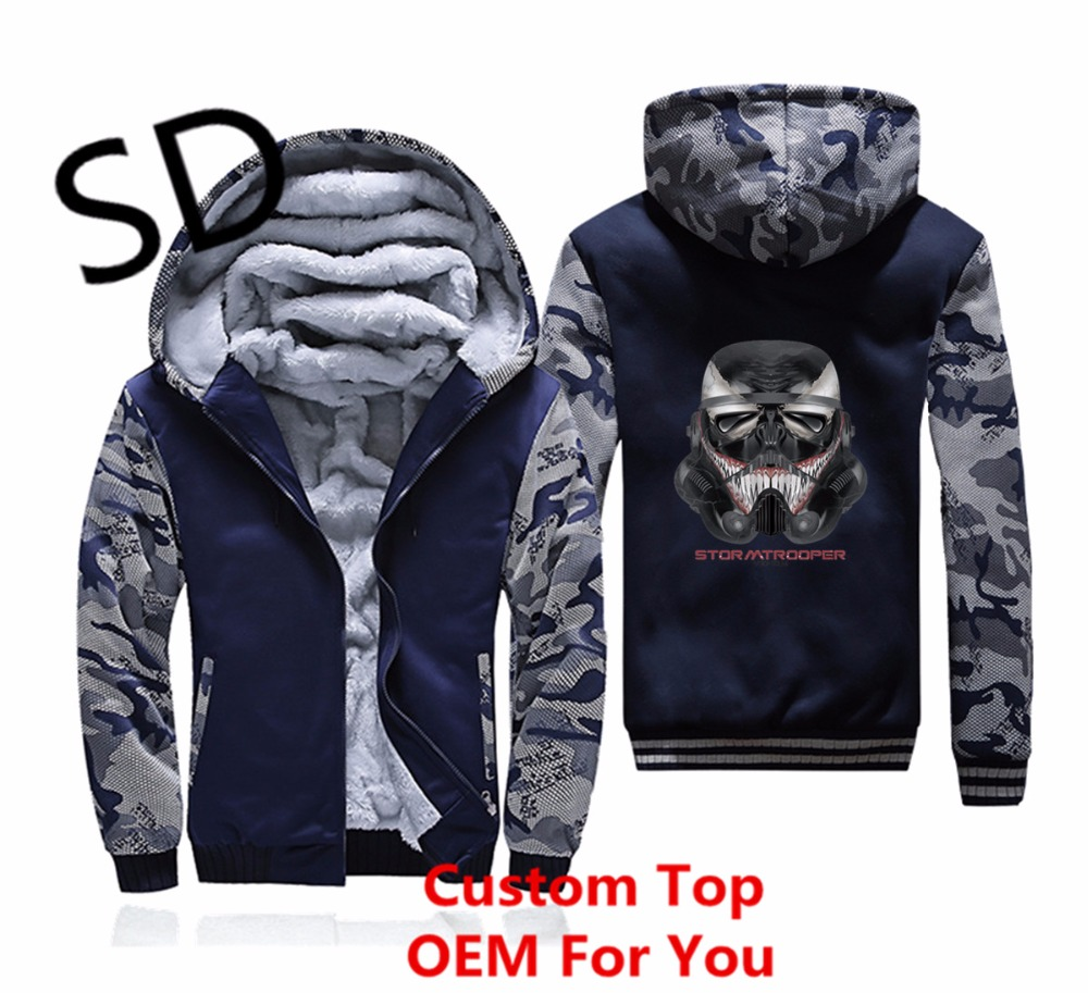 Men's Clothing 2018 New 3d Hoodies Men Narwhal Rainbow Stormtrooper Star Wars Sweatshirt Men Novelty Style Punisher Long Sleeve Winter Clothing