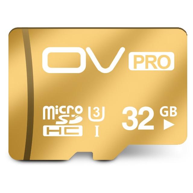 100% Original OV PRO Micro SD Card 32GB Class10 SDHC UHS-1 U3 Tarjetas SD Micro Carte SD 32GB  Flash Memory MicroSD TF Card