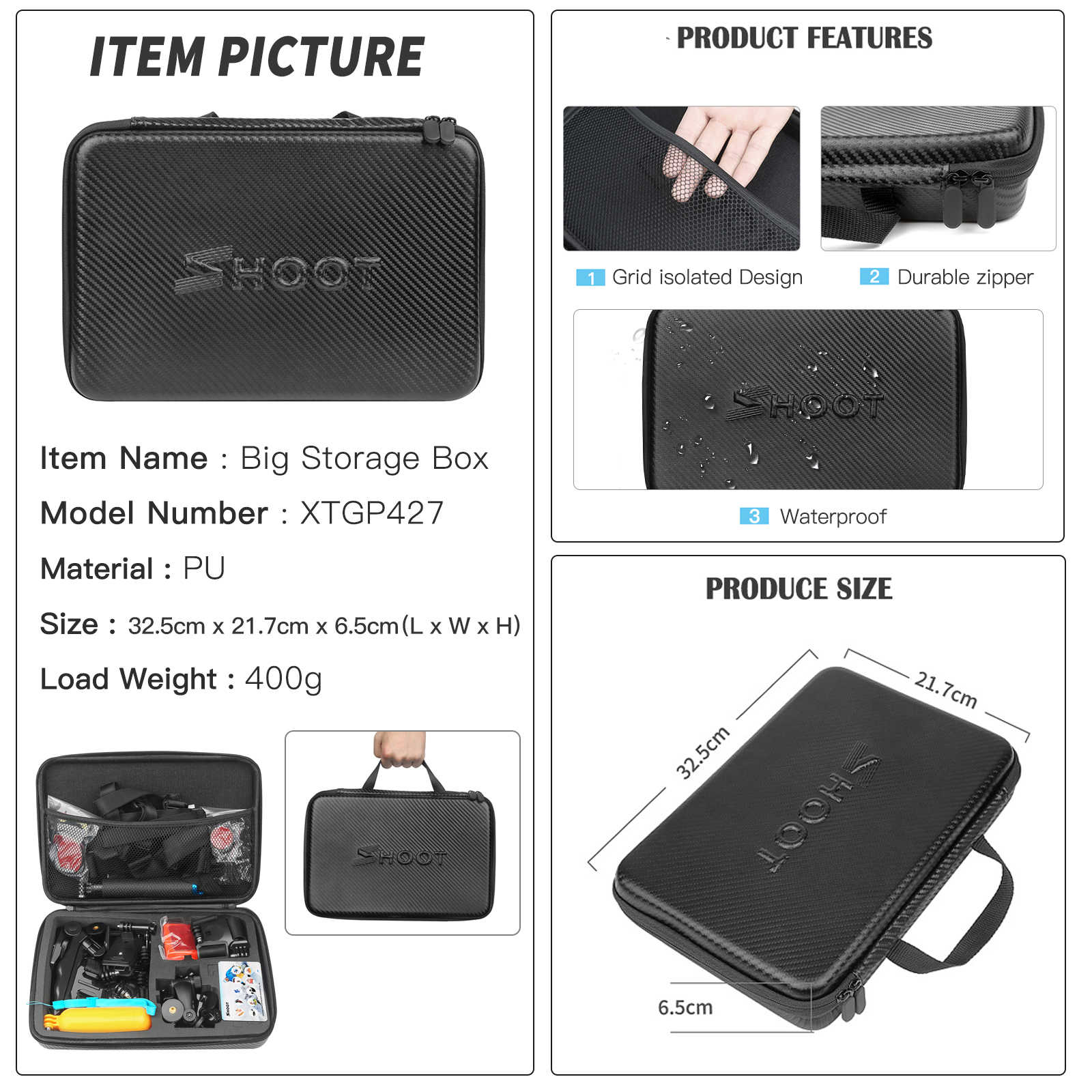 Стрелять Действие Камера аксессуаров для GoPro Hero 7 6 5 4 черный Xiaomi Yi 4 K Lite 2 SJCAM SJ7 Экен H9 Go Pro крепление для Sony Nikon комплект